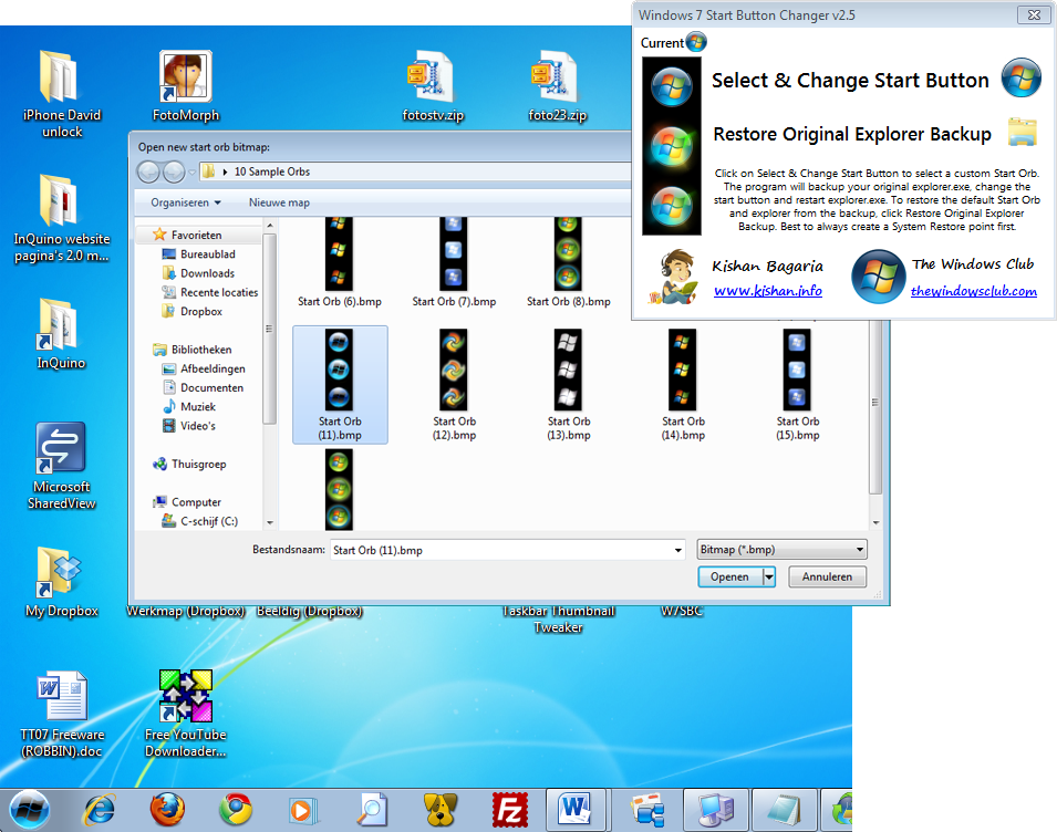 Windows 7 start orb changer orbs download planerkidteamp for Door to windows