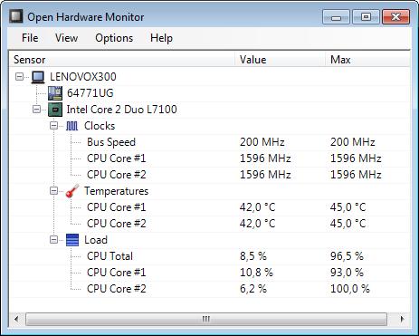 تعرف على حرارة جهازك و سرعة المروحة مع Open Hardware Monitor أخر إصدار