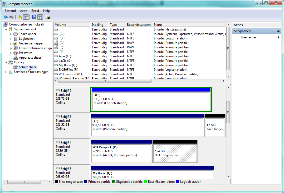 Frank 39 s toolbox hoe kan ik in windows 7 een extra partitie maken - Een verwijderbare partitie maken ...