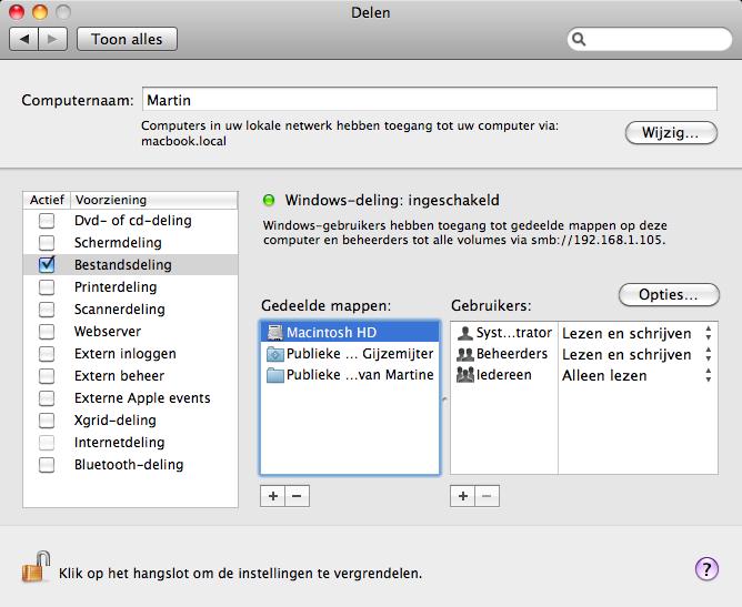 mac ziet externe schijf niet