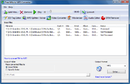 mp3 to aac m4a converter free
