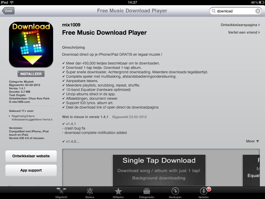 waar gratis muziek downloaden