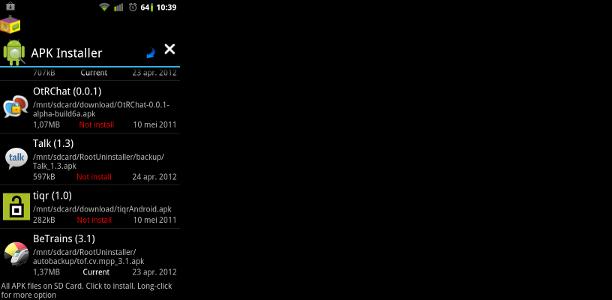 verwijderde apps terugzetten android